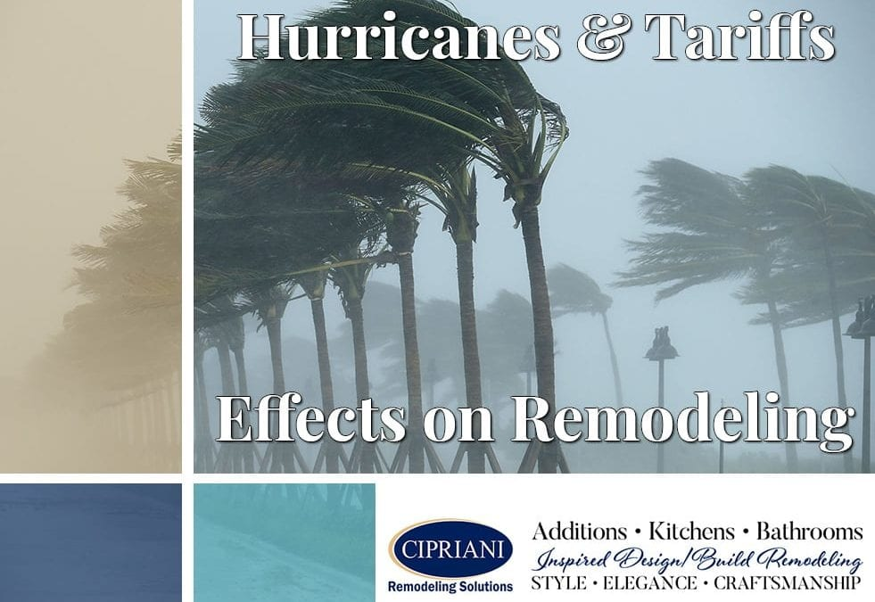 hurricanes & tariffs