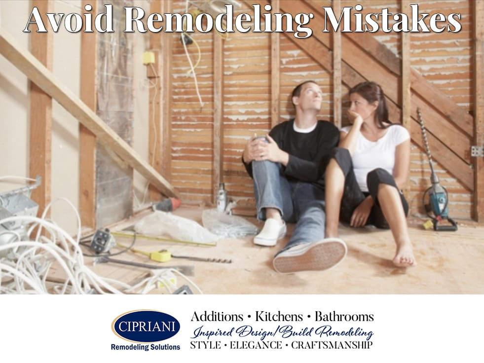 avoid remodeling mistakes