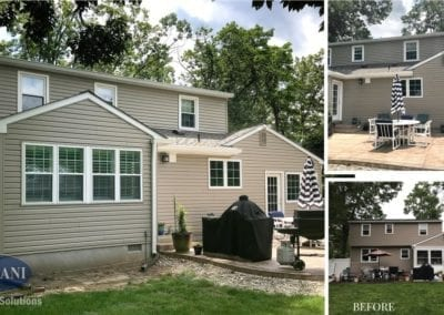 Delran Exterior Renovation Before & After