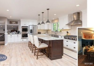 Delran Kitchen Remodel Before & After