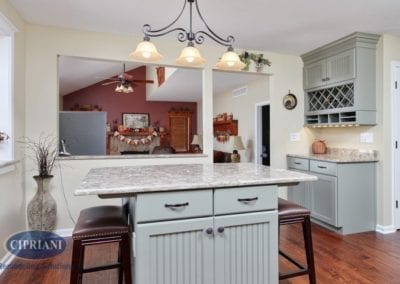 Galloway farmhouse kitchen remodel