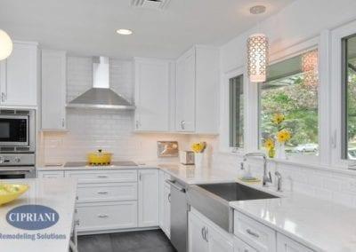 Haddonfield retro kitchen remodel