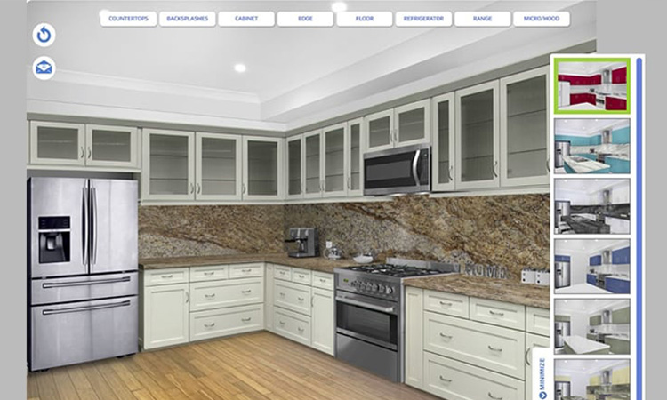 View Kitchen Visualizer