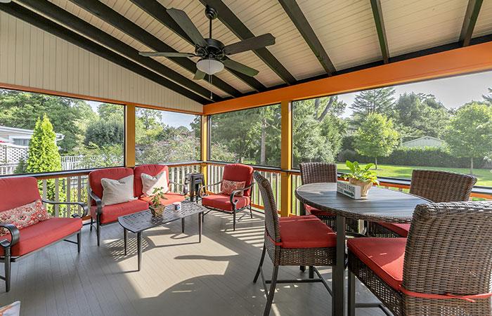 Sun-rooms & Porches