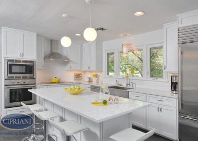 Haddonfield, NJ – Clinton Ave Kitchen Remodeling