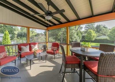 Haddonfield, NJ Patio & Sunroom Renovation