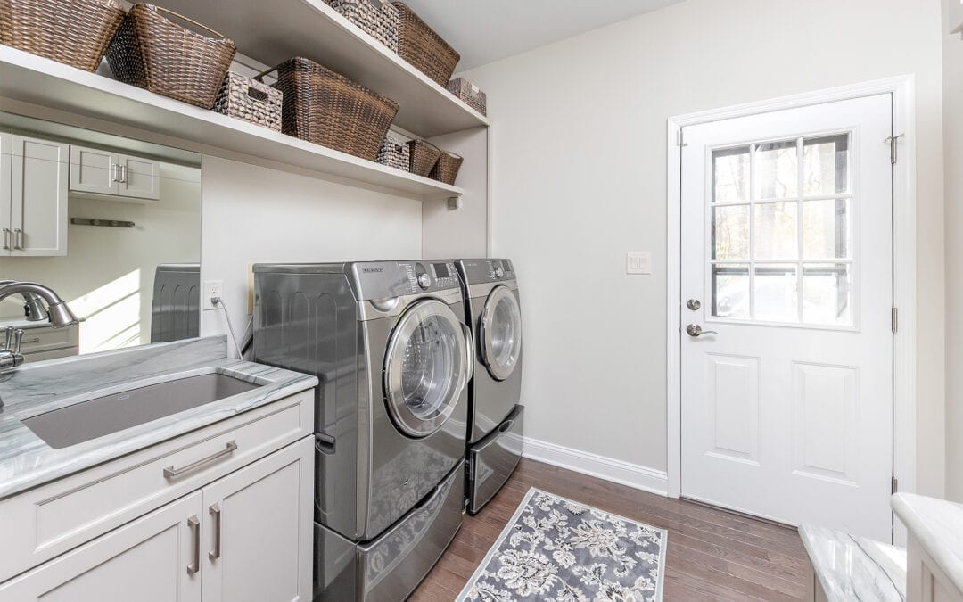What to consider with your laundry space