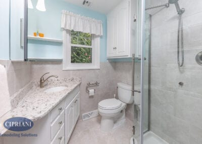 Haddonfield, NJ – Ardmore Ave. Bathroom Remodeling